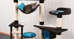 arbre a chat 120 cm. Black Bedroom Furniture Sets. Home Design Ideas