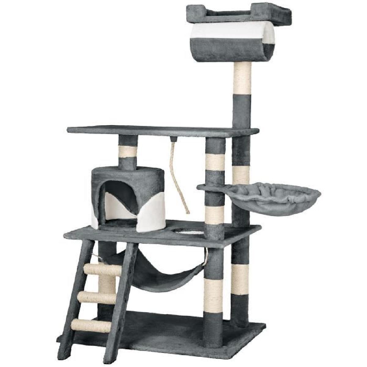 arbre a chat 141 cm. Black Bedroom Furniture Sets. Home Design Ideas