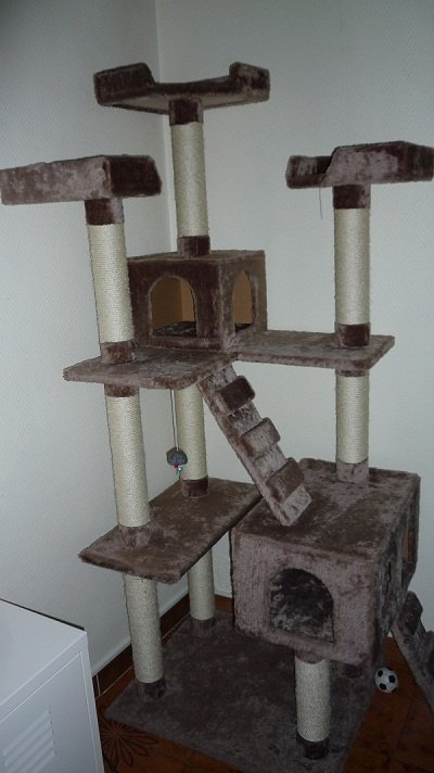 arbre a chat 1m80. Black Bedroom Furniture Sets. Home Design Ideas