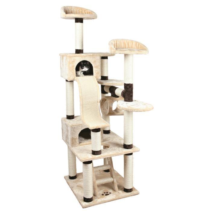 arbre a chat pour 2 chats. Black Bedroom Furniture Sets. Home Design Ideas