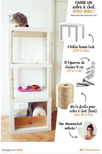 arbre a chat a faire soi meme. Black Bedroom Furniture Sets. Home Design Ideas