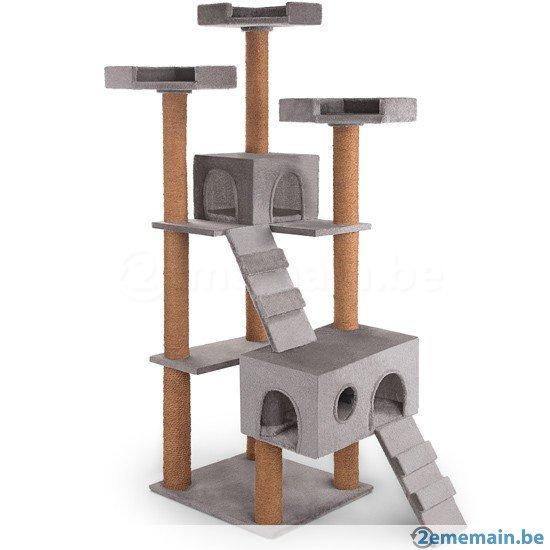 arbre a chat pas cher auchan. Black Bedroom Furniture Sets. Home Design Ideas