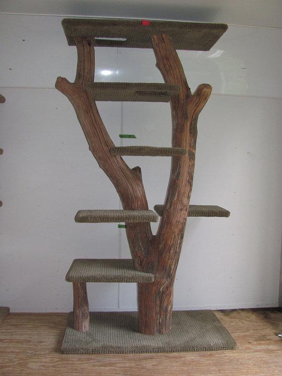 arbre a chat artisanal. Black Bedroom Furniture Sets. Home Design Ideas