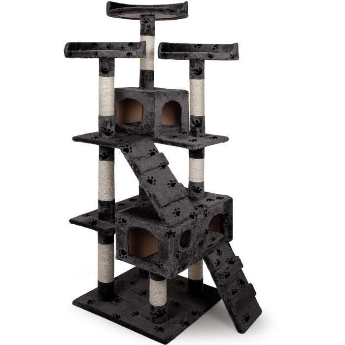 arbre a chat avec griffoir pas cher. Black Bedroom Furniture Sets. Home Design Ideas