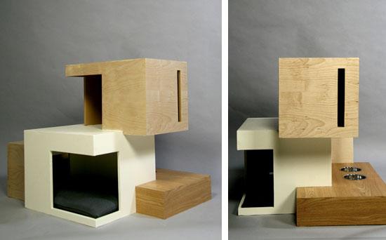 arbre a chat avec litiere. Black Bedroom Furniture Sets. Home Design Ideas