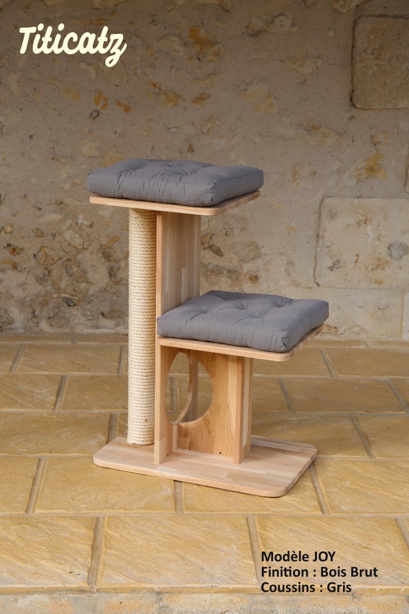arbre a chat bois design. Black Bedroom Furniture Sets. Home Design Ideas