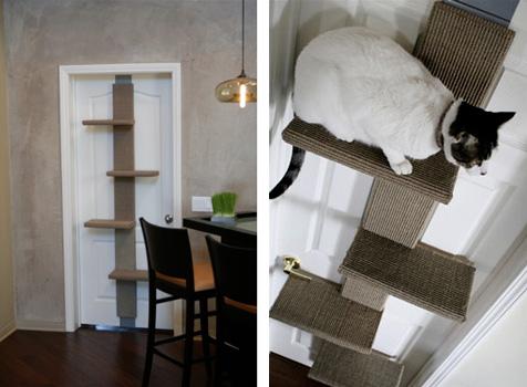 arbre a chat bouleau. Black Bedroom Furniture Sets. Home Design Ideas