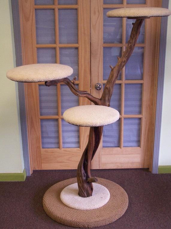 arbre a chat branche. Black Bedroom Furniture Sets. Home Design Ideas