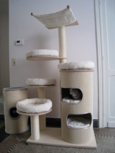 arbre a chat dehoussable. Black Bedroom Furniture Sets. Home Design Ideas