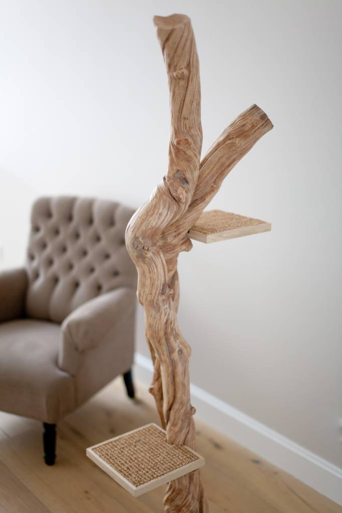 Arbre a chat design quebec - Arbre a chat bois naturel ...