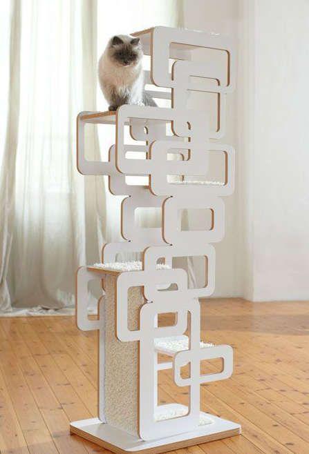 arbre a chat diy. Black Bedroom Furniture Sets. Home Design Ideas