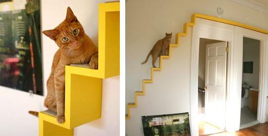 arbre a chat escalier. Black Bedroom Furniture Sets. Home Design Ideas