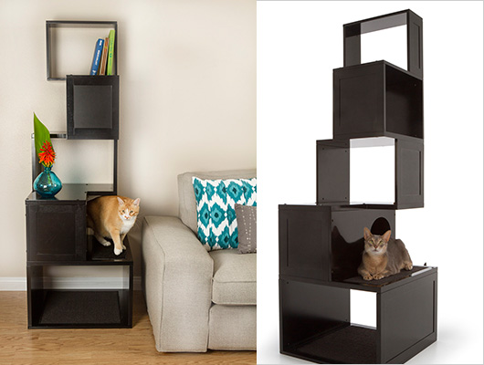 arbre a chat etagere. Black Bedroom Furniture Sets. Home Design Ideas