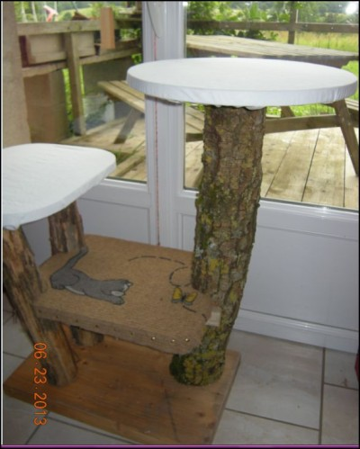 arbre a chat fait maison