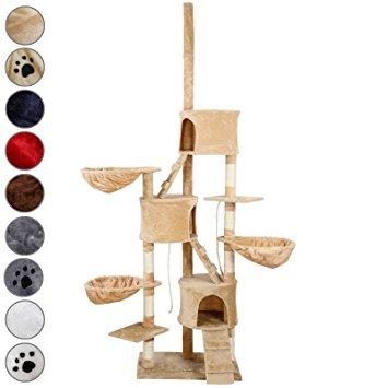 arbre a chat geant leopet. Black Bedroom Furniture Sets. Home Design Ideas