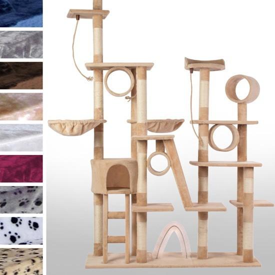 arbre a chat geant. Black Bedroom Furniture Sets. Home Design Ideas