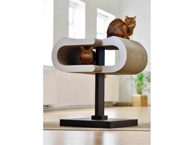 arbre a chat griffoir design. Black Bedroom Furniture Sets. Home Design Ideas