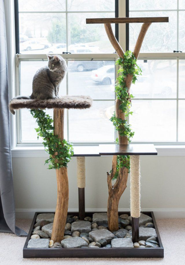 arbre a chat homemade