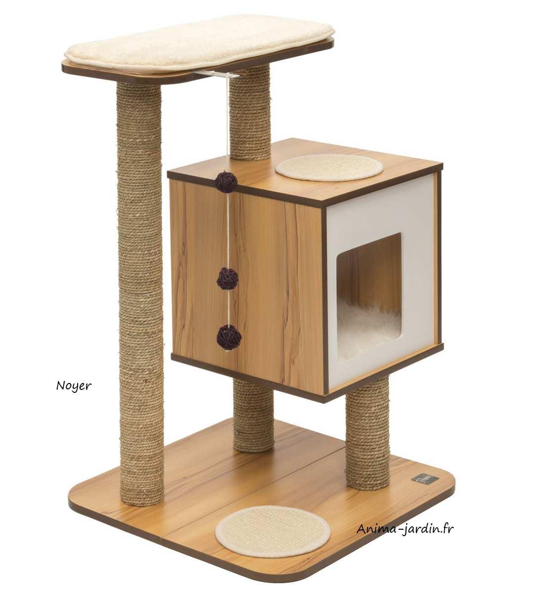 arbre a chat jardin. Black Bedroom Furniture Sets. Home Design Ideas