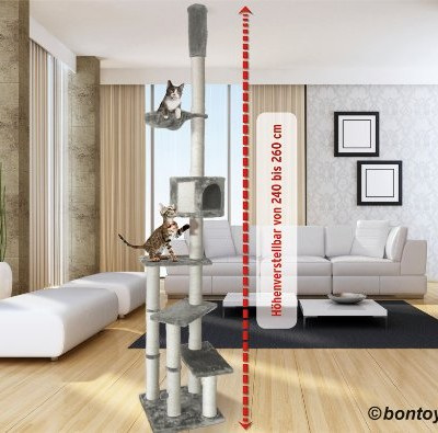 arbre a chat jusqu 39 au plafond. Black Bedroom Furniture Sets. Home Design Ideas