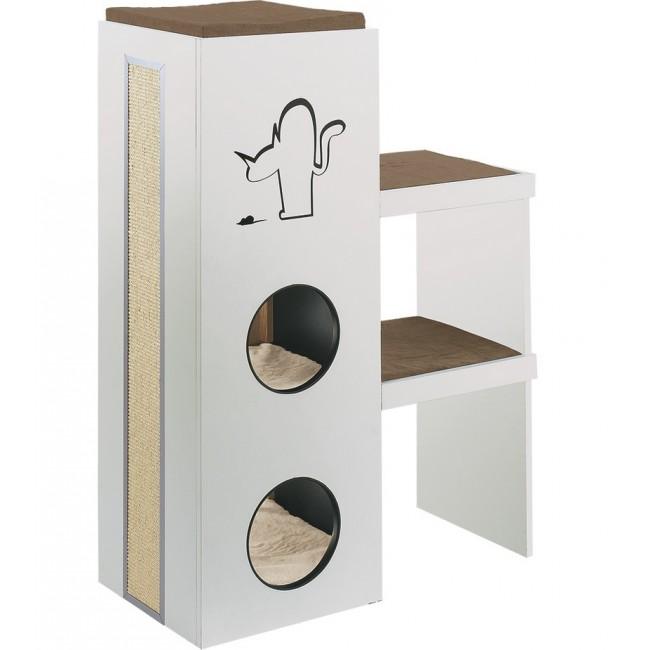 arbre a chat meuble. Black Bedroom Furniture Sets. Home Design Ideas
