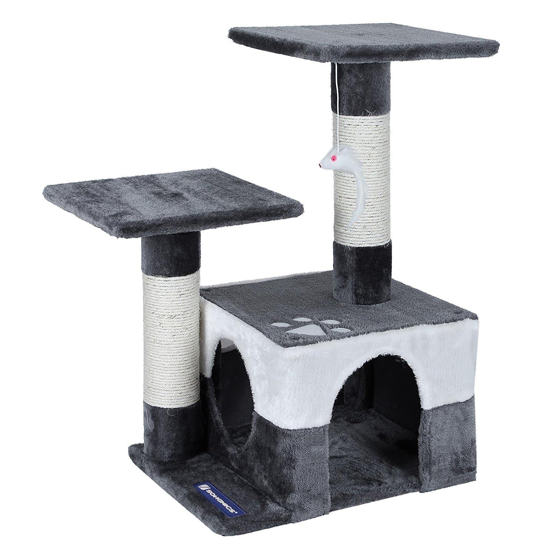 arbre a chat moins de 50. Black Bedroom Furniture Sets. Home Design Ideas