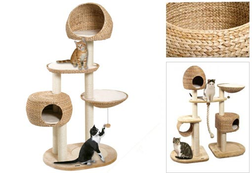 Arbre a chat original - Arbre a chat bois naturel ...