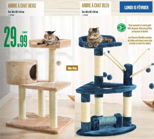Arbre a chat pas cher magasin - Arbre a chat pas cher gifi ...