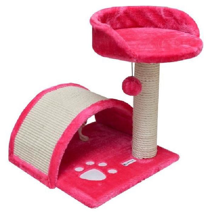 arbre a chat pas cher rose. Black Bedroom Furniture Sets. Home Design Ideas