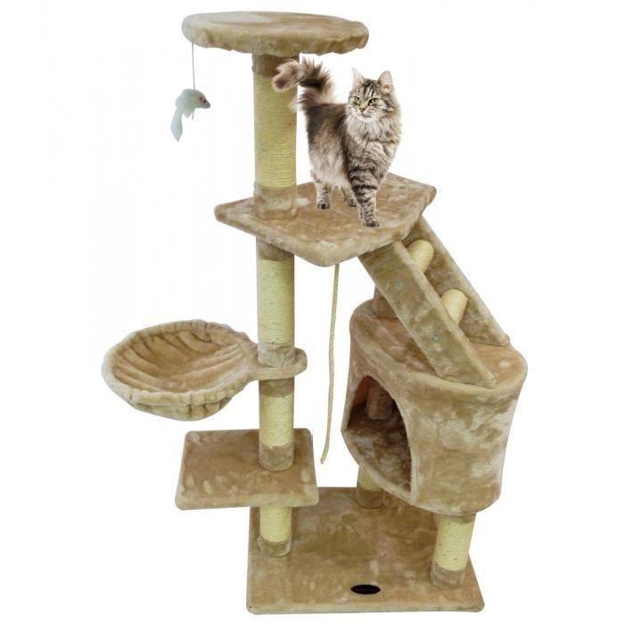 arbre a chat design pas cher maison design. Black Bedroom Furniture Sets. Home Design Ideas