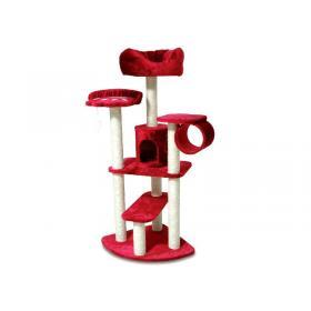 arbre a chat rouge pas cher. Black Bedroom Furniture Sets. Home Design Ideas