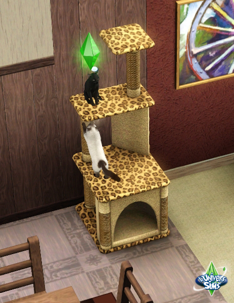 arbre a chat sims 3