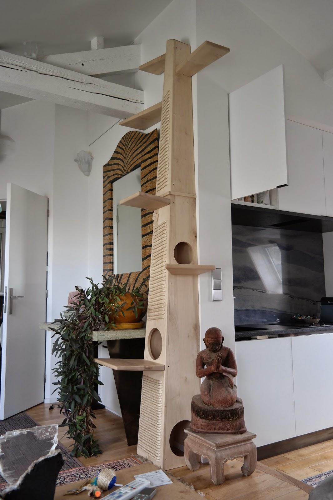 arbre a chat sur mesure. Black Bedroom Furniture Sets. Home Design Ideas