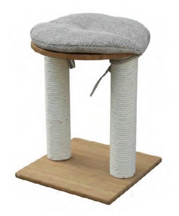 arbre a chat tabouret. Black Bedroom Furniture Sets. Home Design Ideas
