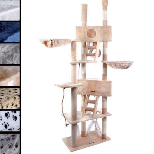 arbre a chat tres haut. Black Bedroom Furniture Sets. Home Design Ideas