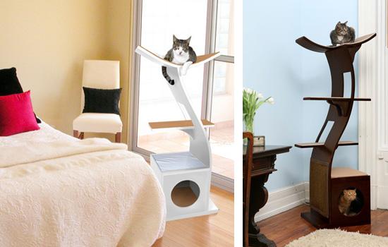 arbre a chat vegetal. Black Bedroom Furniture Sets. Home Design Ideas