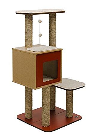 arbre a chat vesper amazon. Black Bedroom Furniture Sets. Home Design Ideas