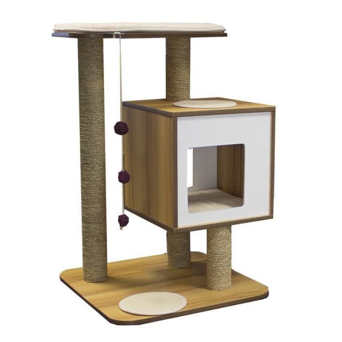 arbre a chat vesper solde. Black Bedroom Furniture Sets. Home Design Ideas