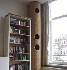 arbre a chat design quebec. Black Bedroom Furniture Sets. Home Design Ideas